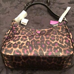Coach Bags - Brand new violet jaguar Coach hobo bag.